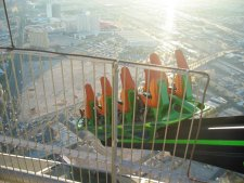 X-Scream; attractie op de Stratosphere Tower