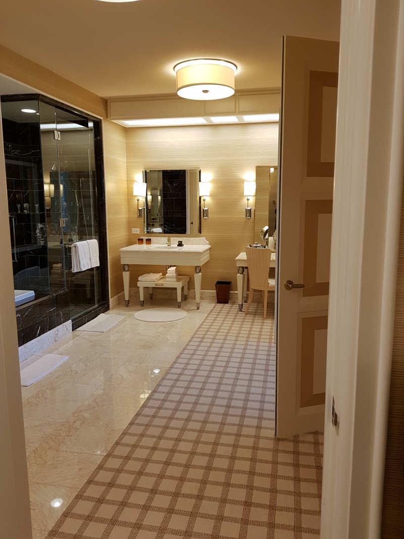 Prachtige badkamer van het Parlor Suite