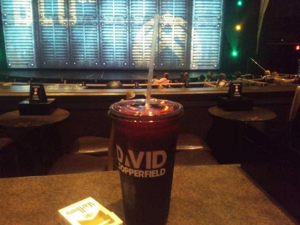 Wachten op de Show van David Copperfield