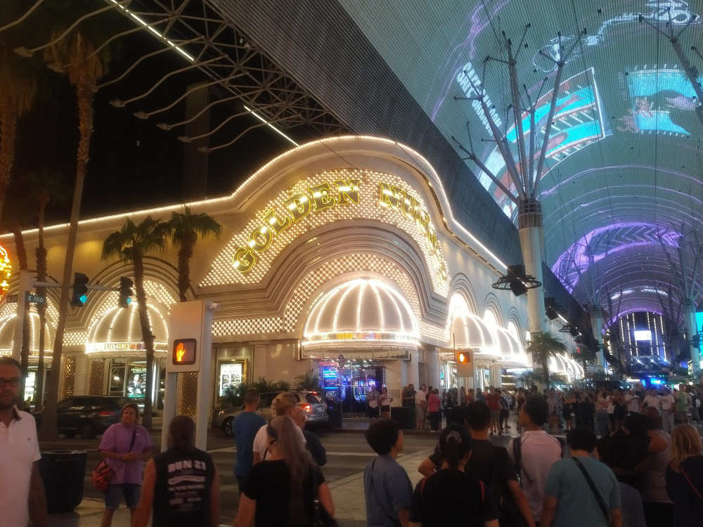 Golden Nugget in Downtown Las Vegas
