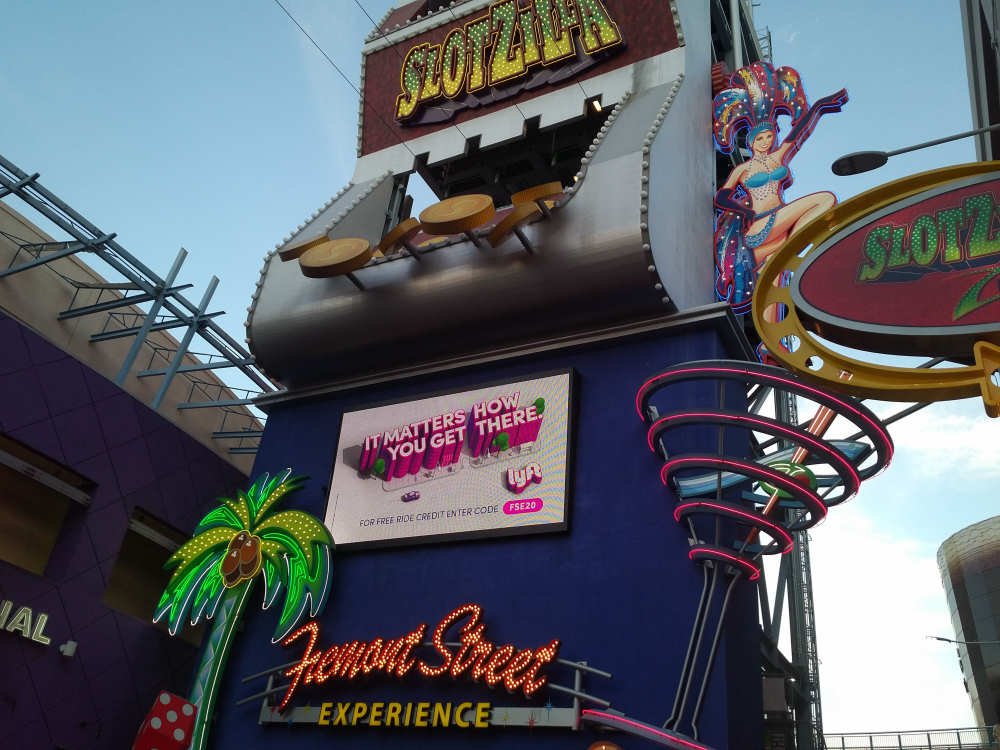 Slotzilla in Downtown Las Vegas