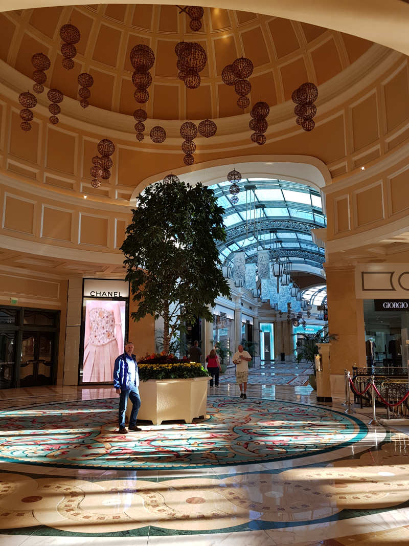 Via Bellagio met zeer luxe winkels