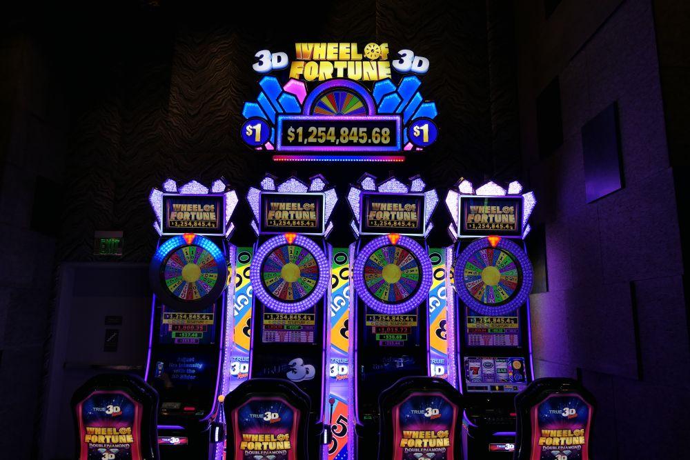 3D Wheel of Fortune, leuke jackpot van 1,2 miljoen :-)