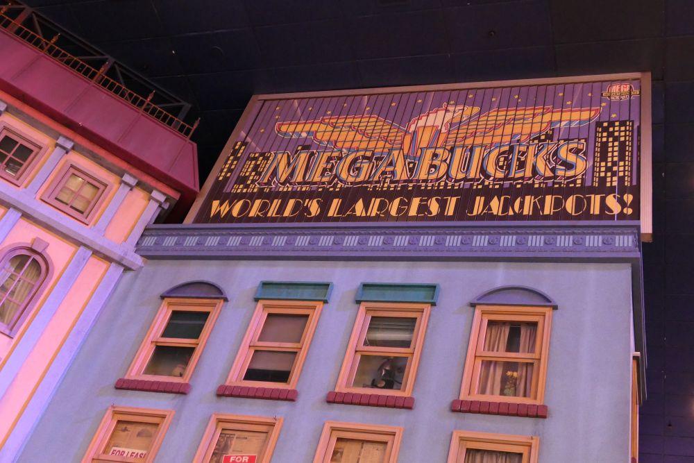 Wie wil er niet de Megabucks jackpot winnen!
