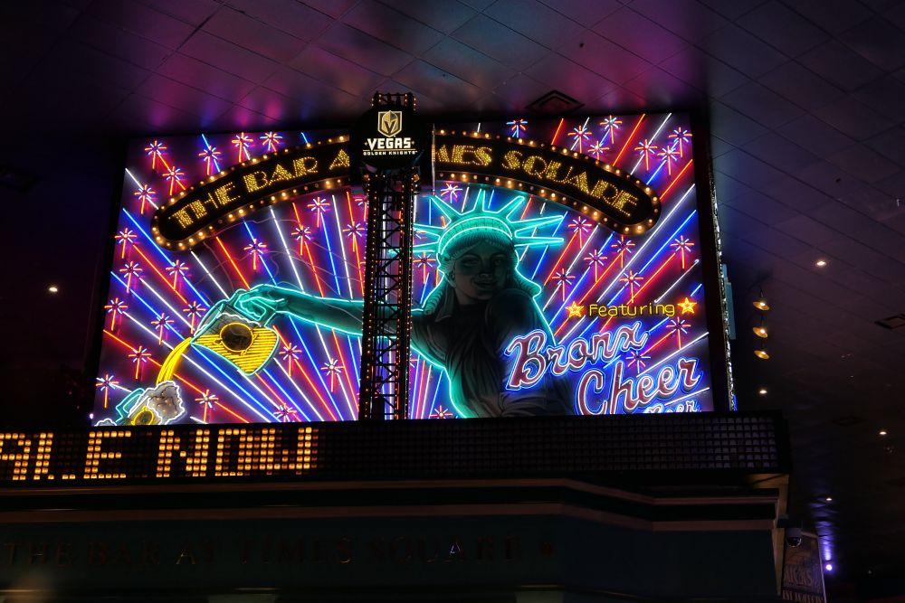 Mooie herkenbare Neon at New York - New York Casino