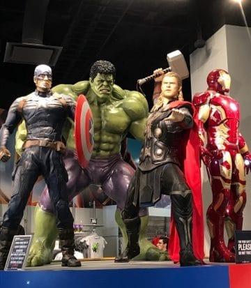 Avengers at T.I.