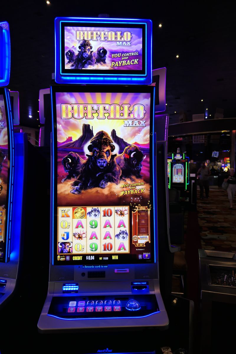 Buffalo Max slot, nog meer Buffalo fun!