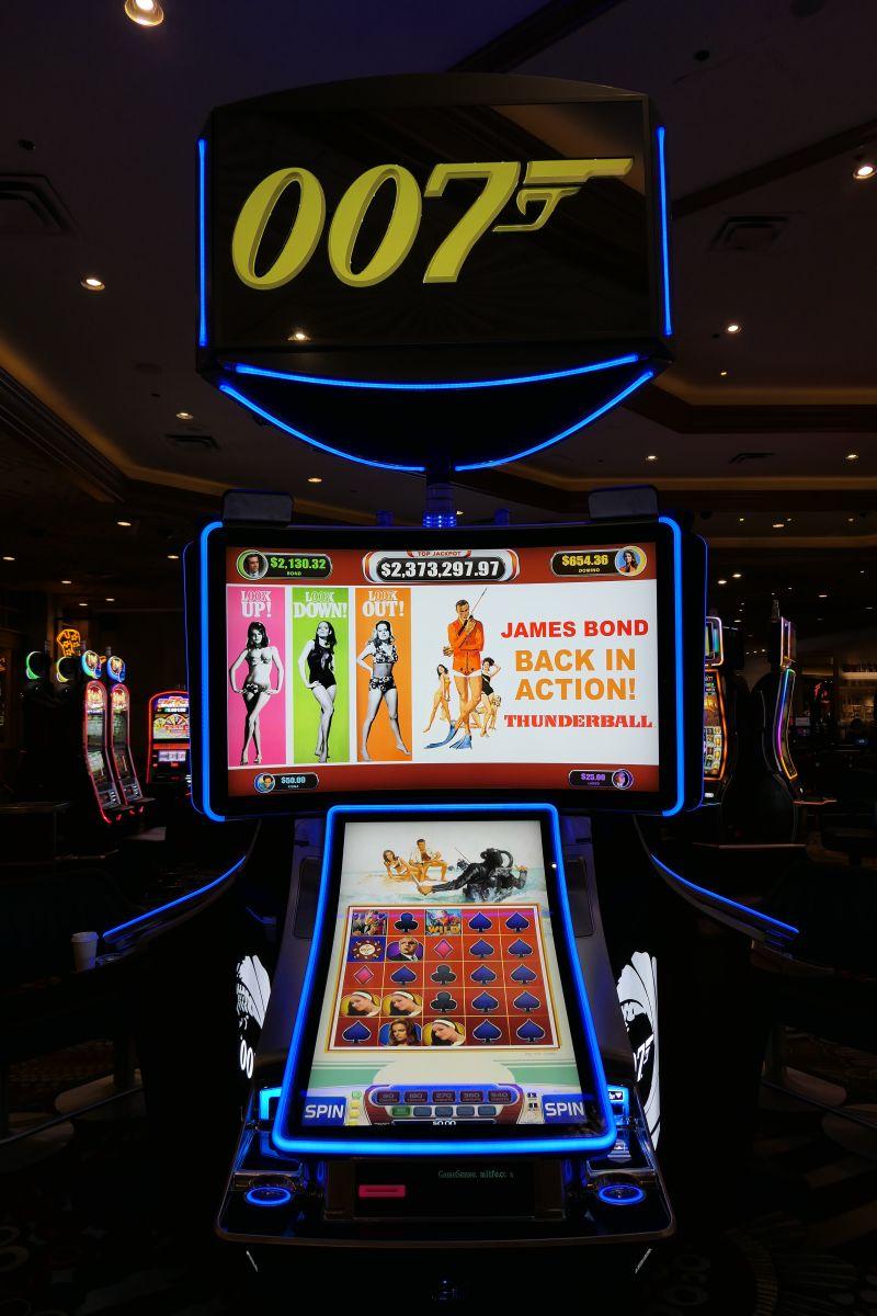De nieuwe James Bond gokkast, Thunderball