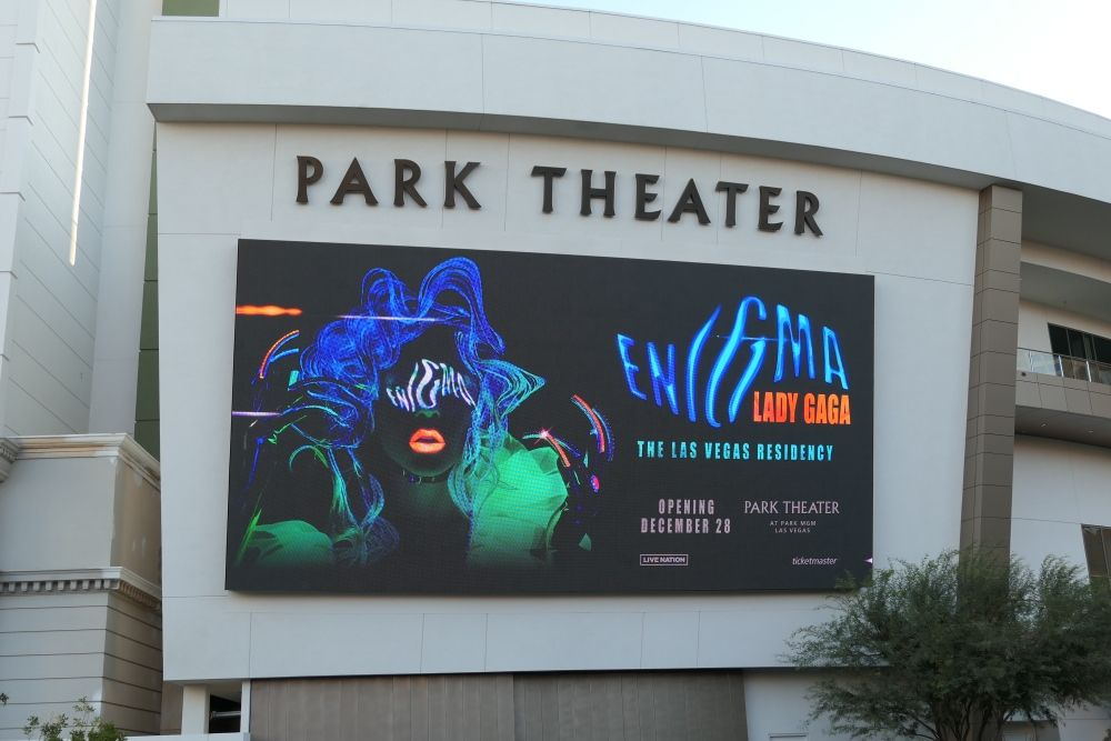 Lady Gaga in Park Theater