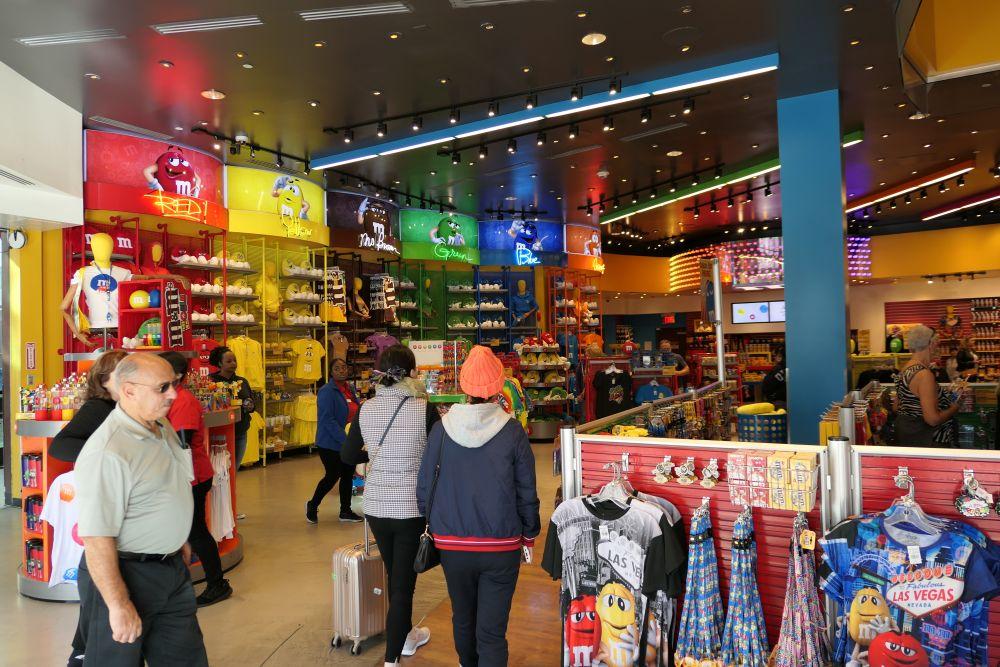 M & M's store in Las Vegas