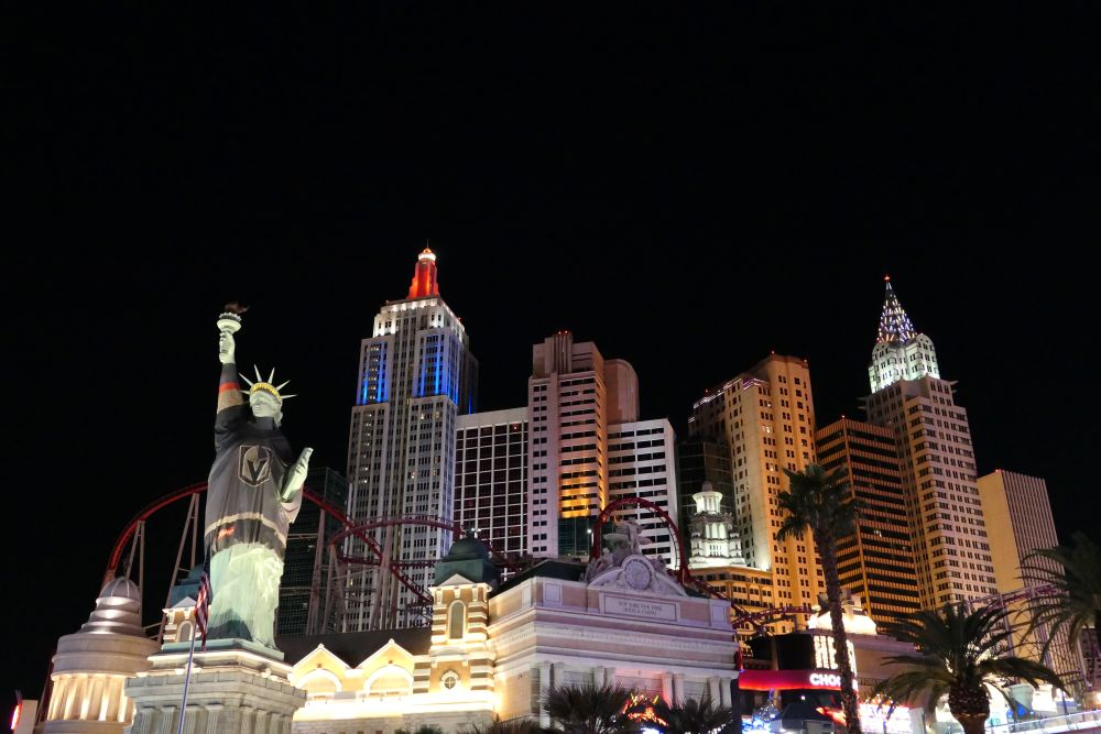 New York -New York Hotel en Casino in Las Vegas