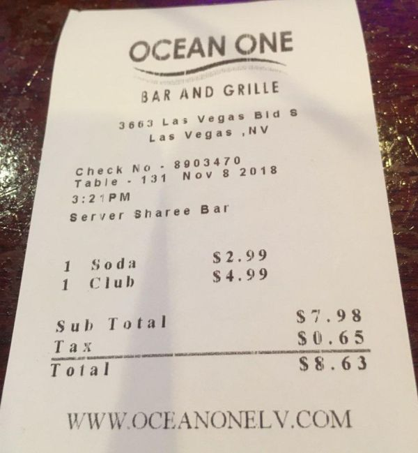 Goedkoop lunchen bij Ocean One