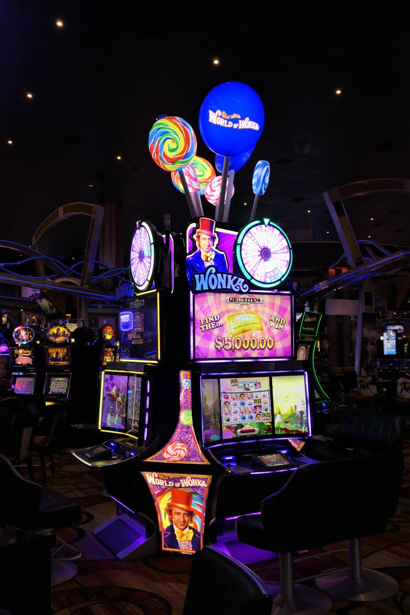 Een bekende Vegas slot, Willy Wonka