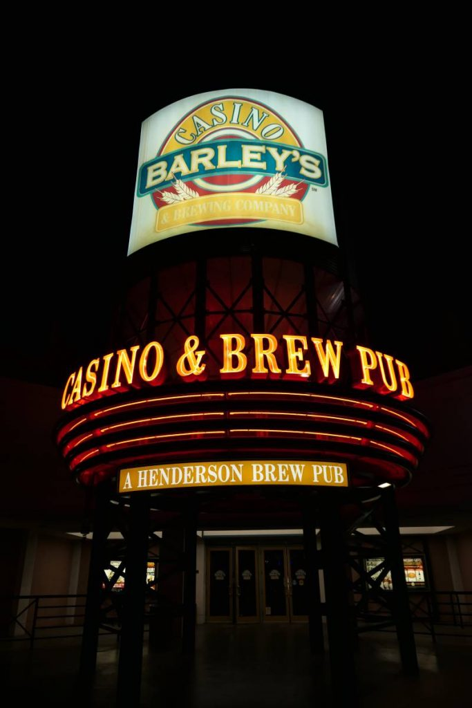 Entree Barley's Casino & Brewery Company in Henderson