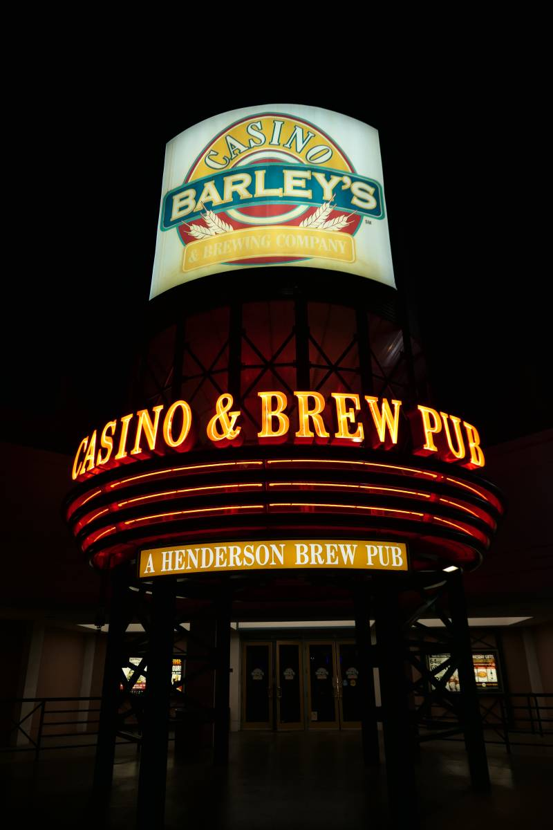 Neons Barley's Casino & Brew Pub in Henderson