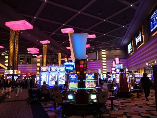 Prachtige casino van Planet Hollywood
