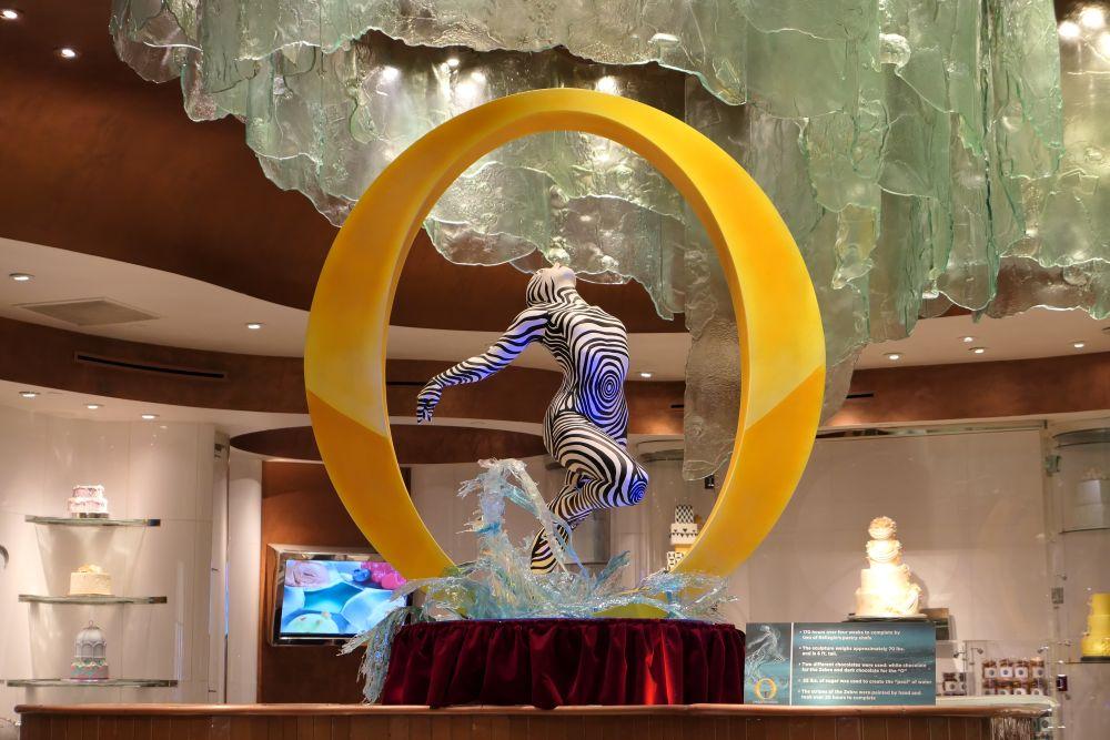 Mooi gemaakt, Cirque de Soleil show 'O'