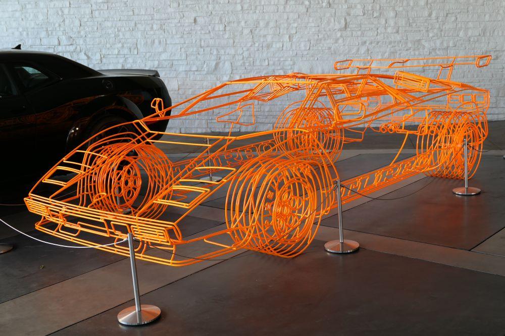Kunstzinnige Lamborghini