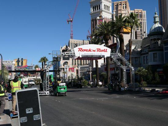 Finish Marathon Las Vegas
