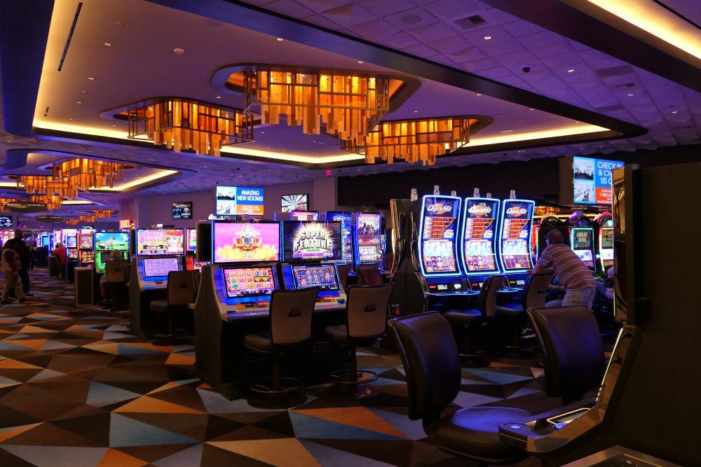 Genoeg gokkasten in het Palace Station Casino
