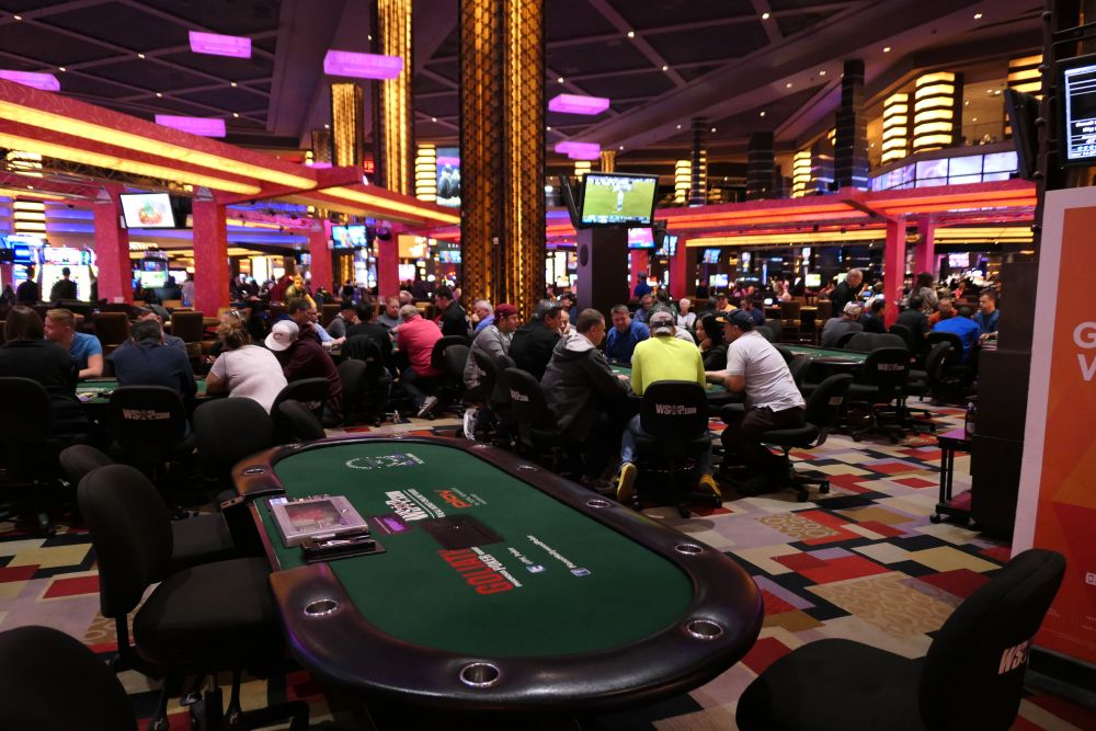 Pokerroom PLanet Hollywood in Las Vegas