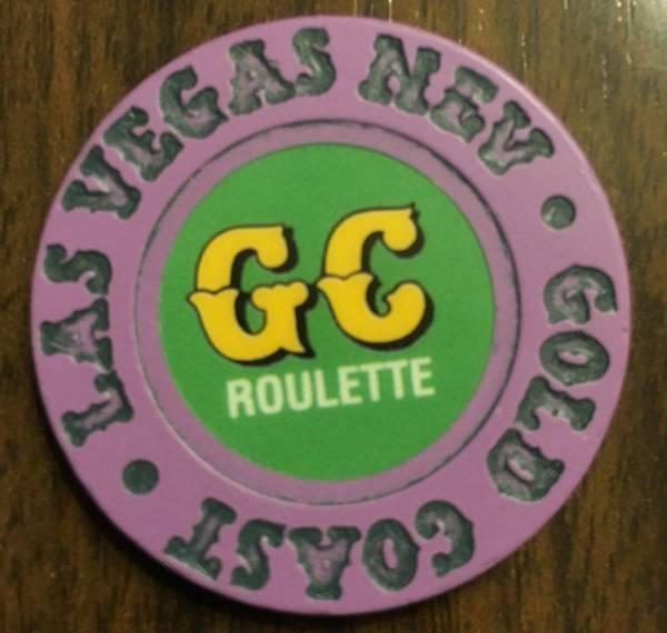 Gold Coast Roulette Chip