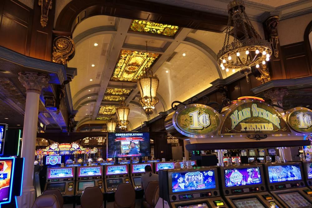 Prachtige aankleding Main Street Station Casino