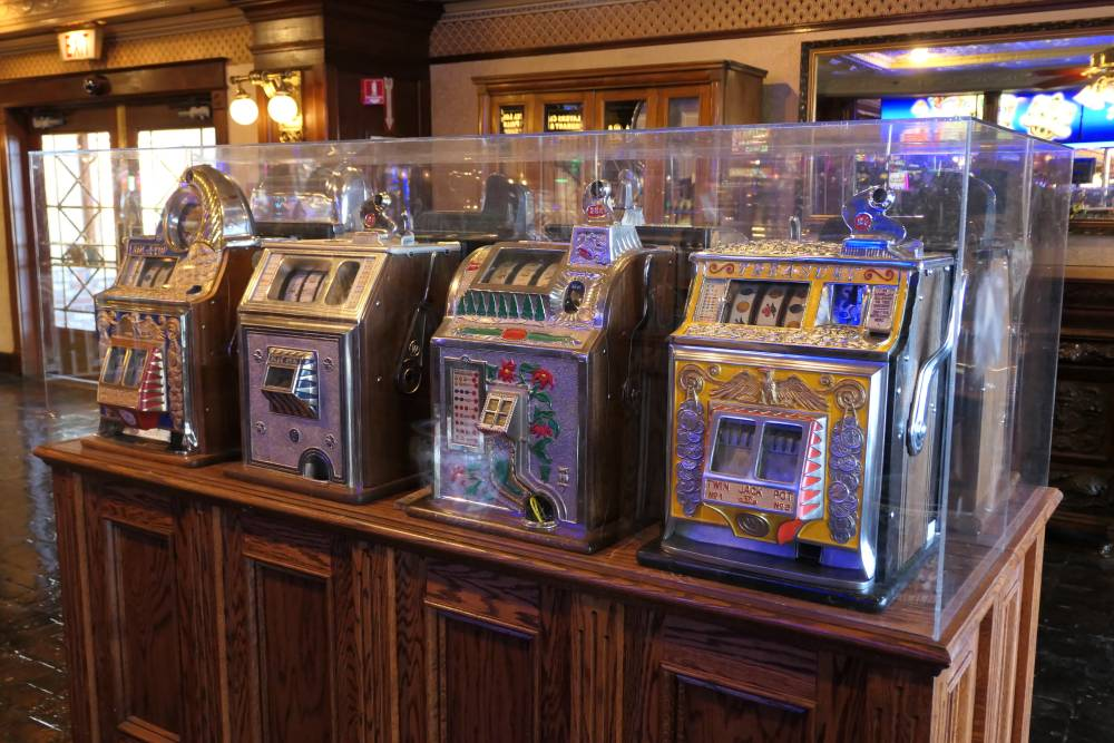Vintage slots Main Street Station Casino