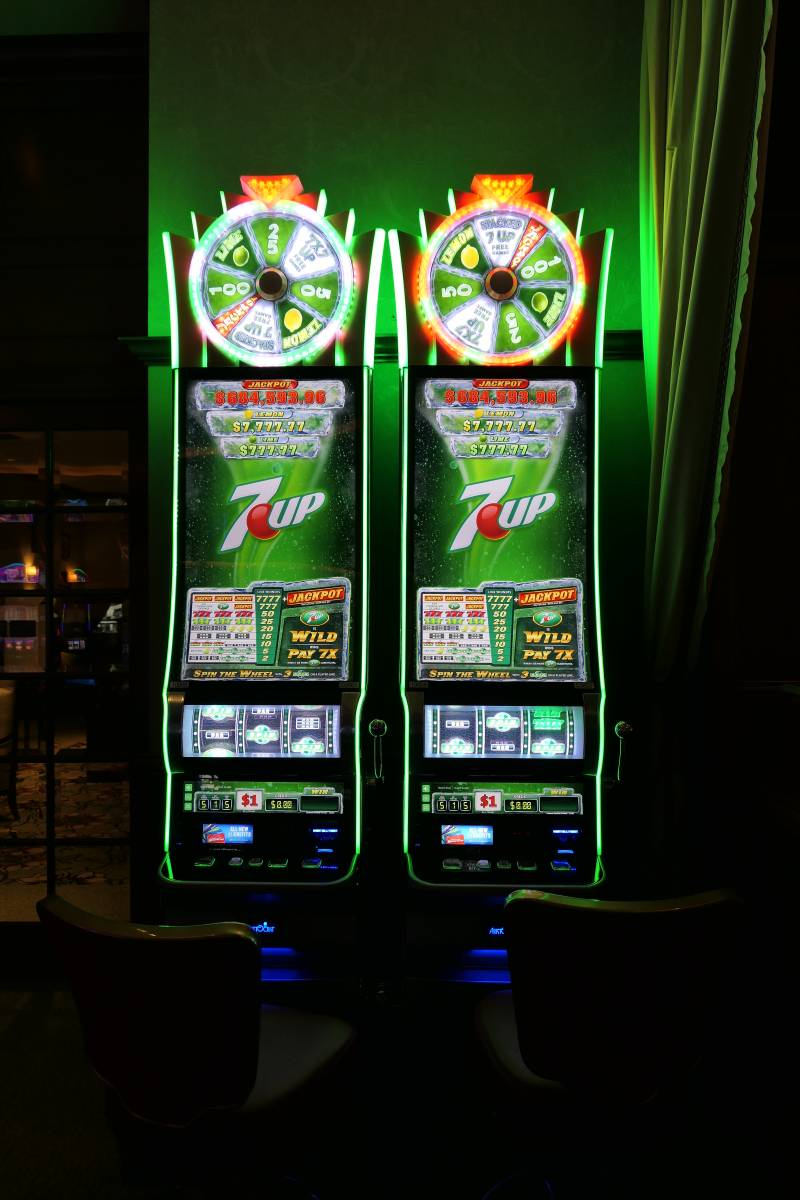 7 Up gokkast in The Orleans Casino