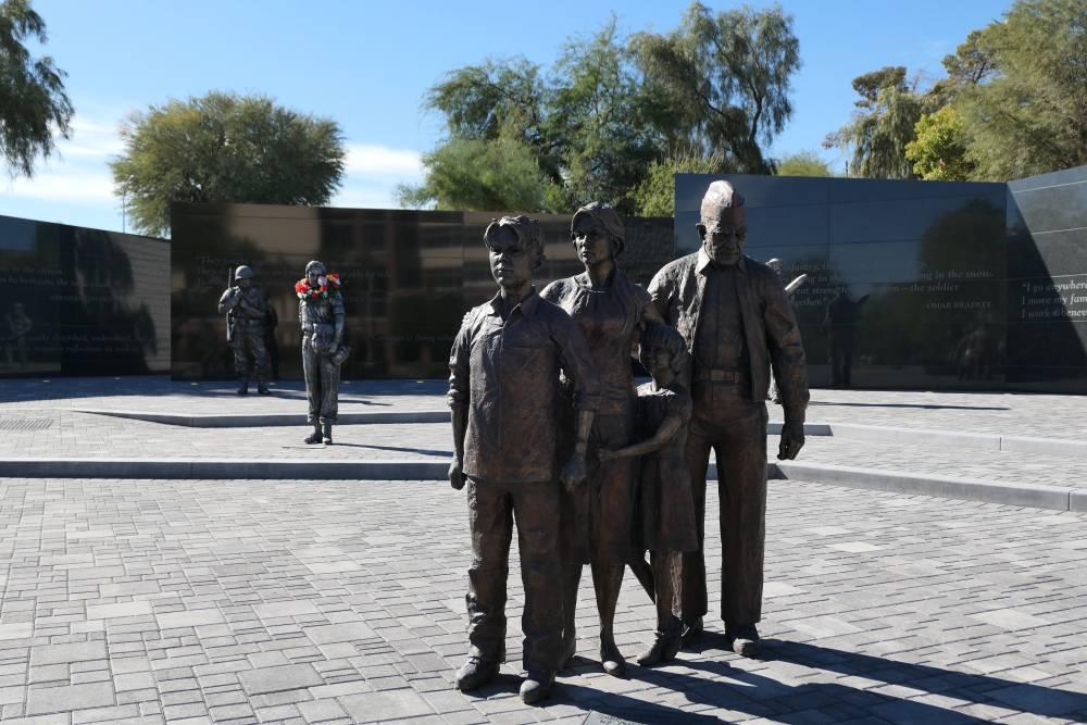 Overzicht Beelden Nevada State Veterans Memorial in Las Vegas