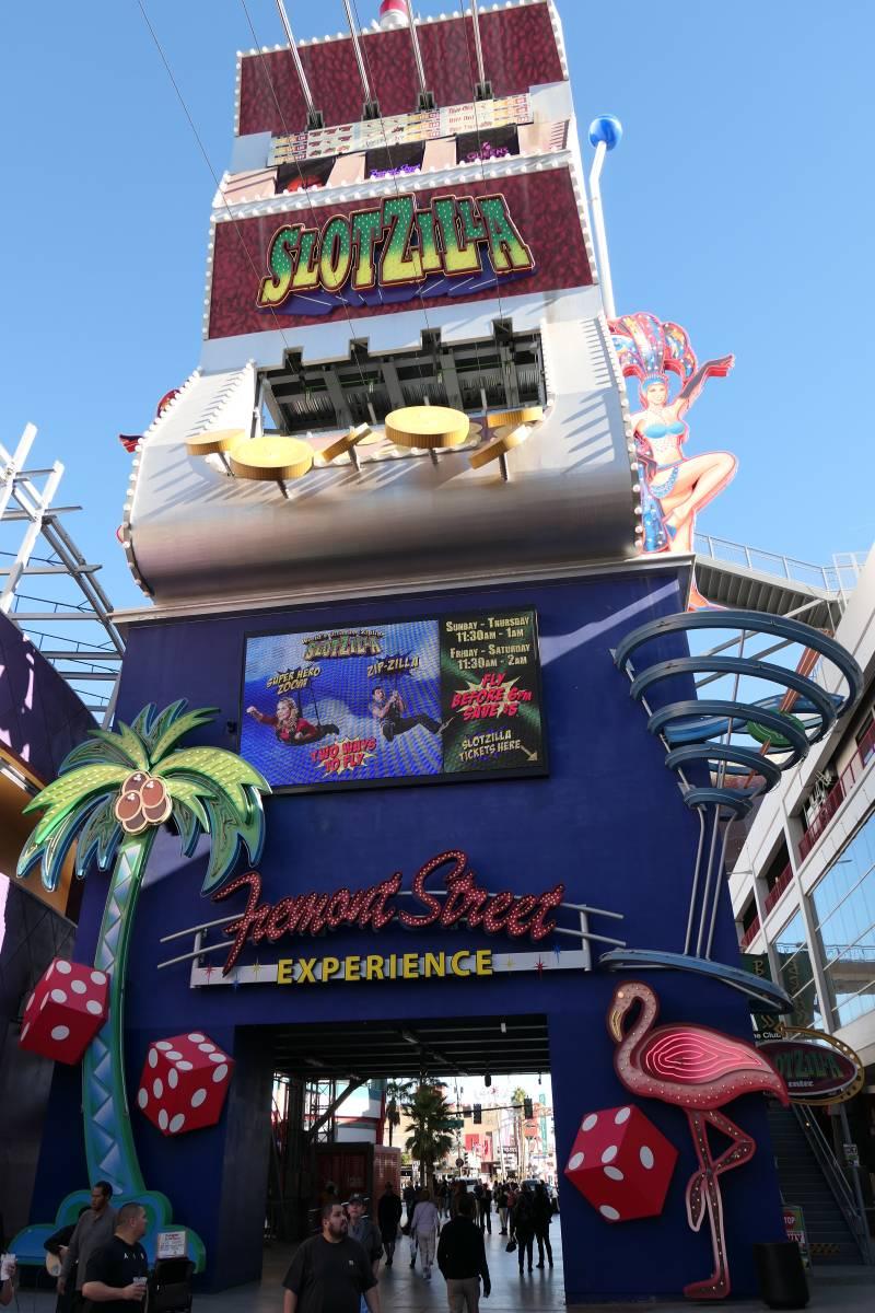 Fremont Street Experience gokkast & Slotzilla