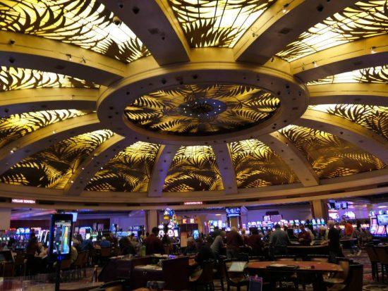 De kenmerkende koepel in het Rampart Casino