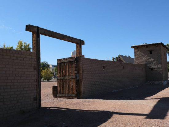 Terrein Old Las Vegas Mormon Fort