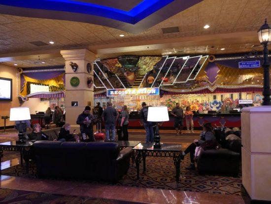 Lobby Orleans Hotel Las Vegas
