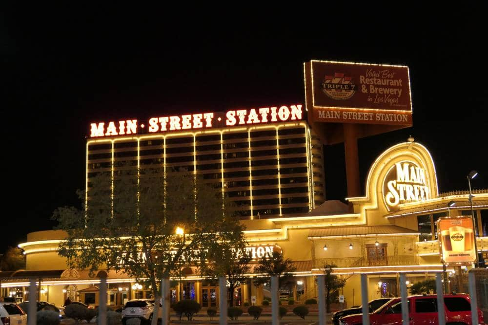 Main Street Station Hotel en Casino Downtown Las Vegas