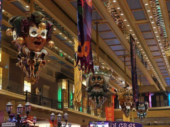 Mardi Gras Thema Orleans Casino