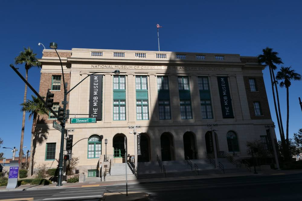 The Mob Museum in Las Vegas