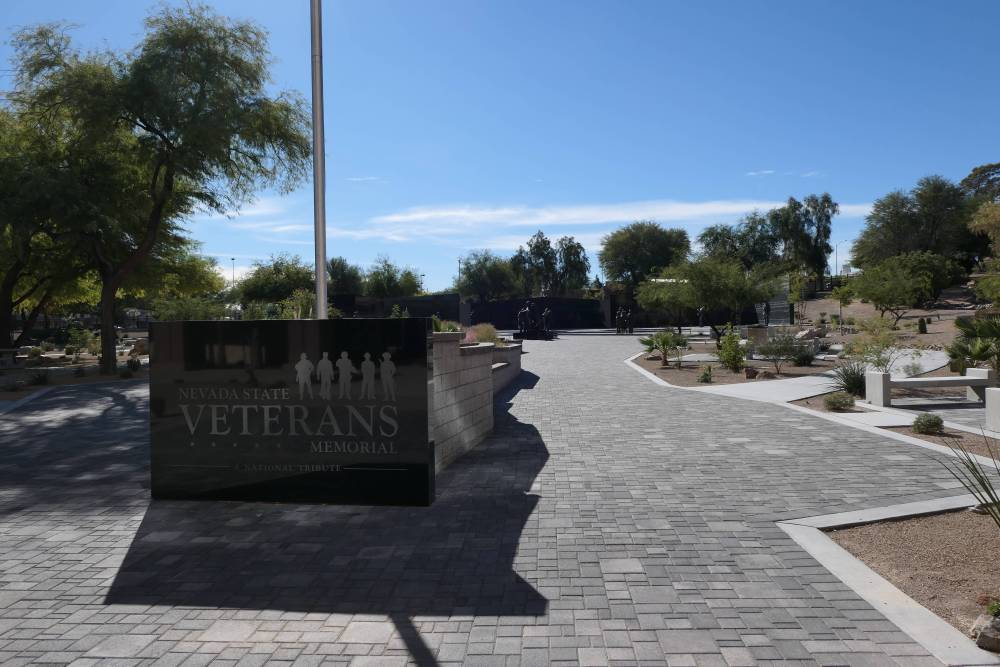 Plakkaat Nevada State Veterans Memorial in Las Vegas