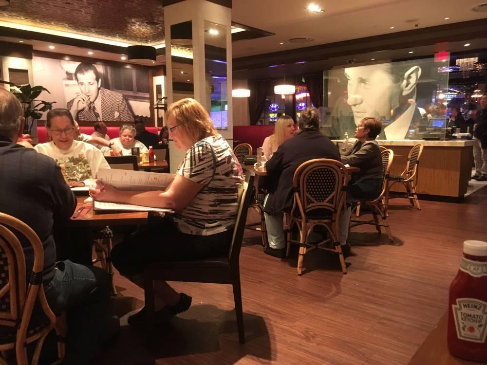 Siegel's 1941 restaurant in het El Cortez Hotel