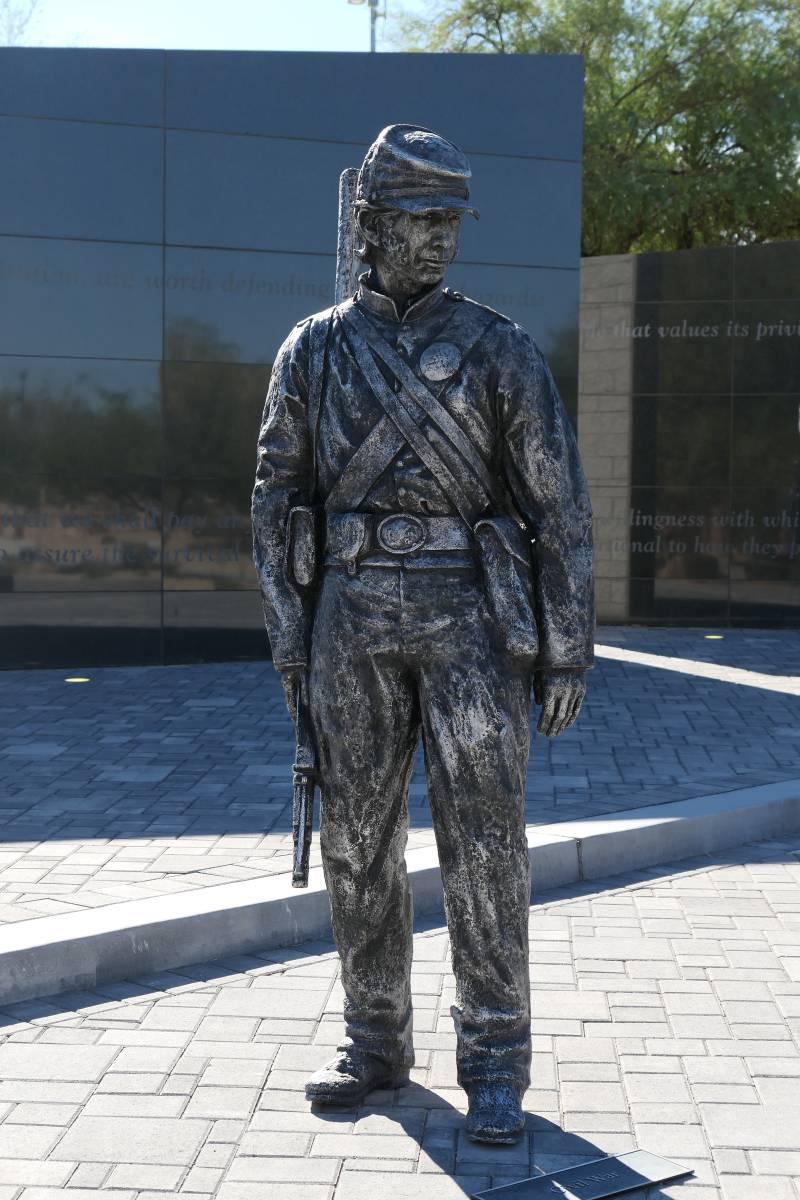 Soldaat Amerikaanse Burgeroorlog,