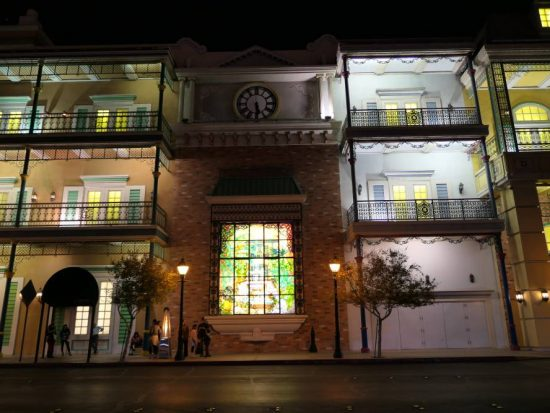The Orleans Hotel en Casino, mooi verlicht