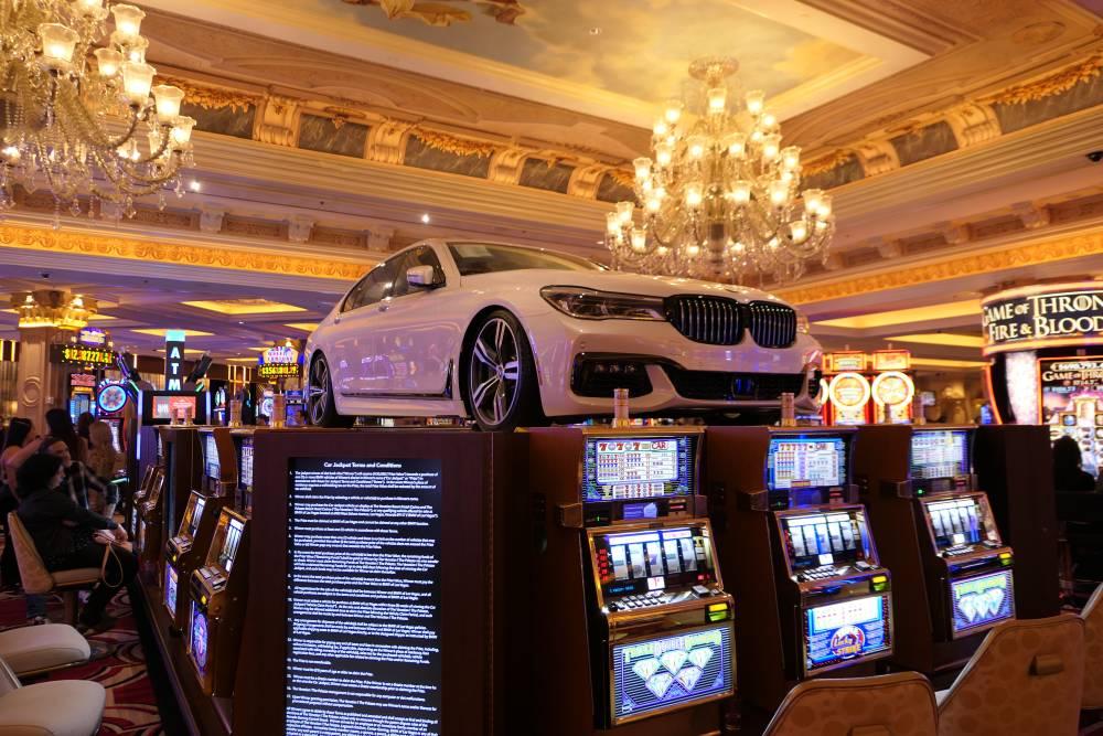 Auto winnen in het Caesars Palace Casino?