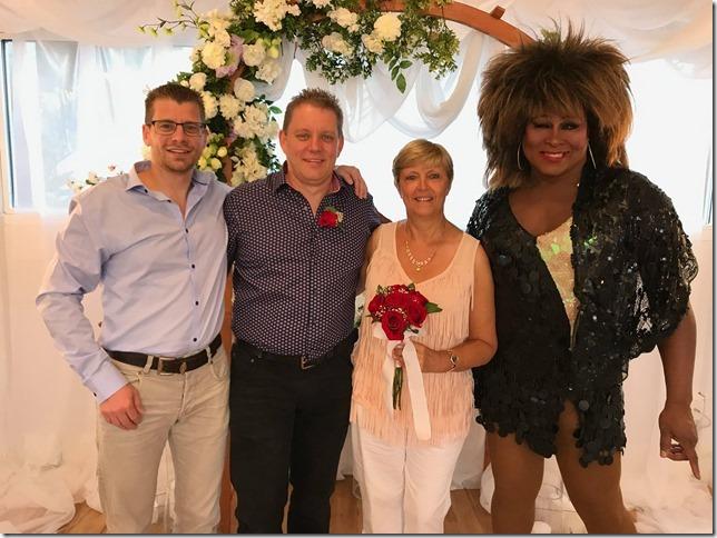 Huwelijk in Las Vegas van Lut en Koen