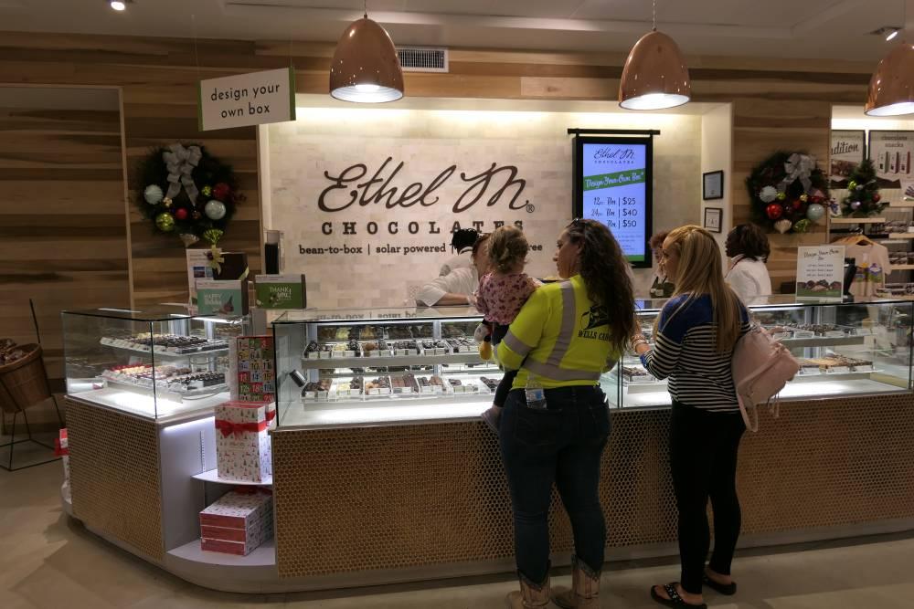 Winkel Ethel M Chocolate Factory