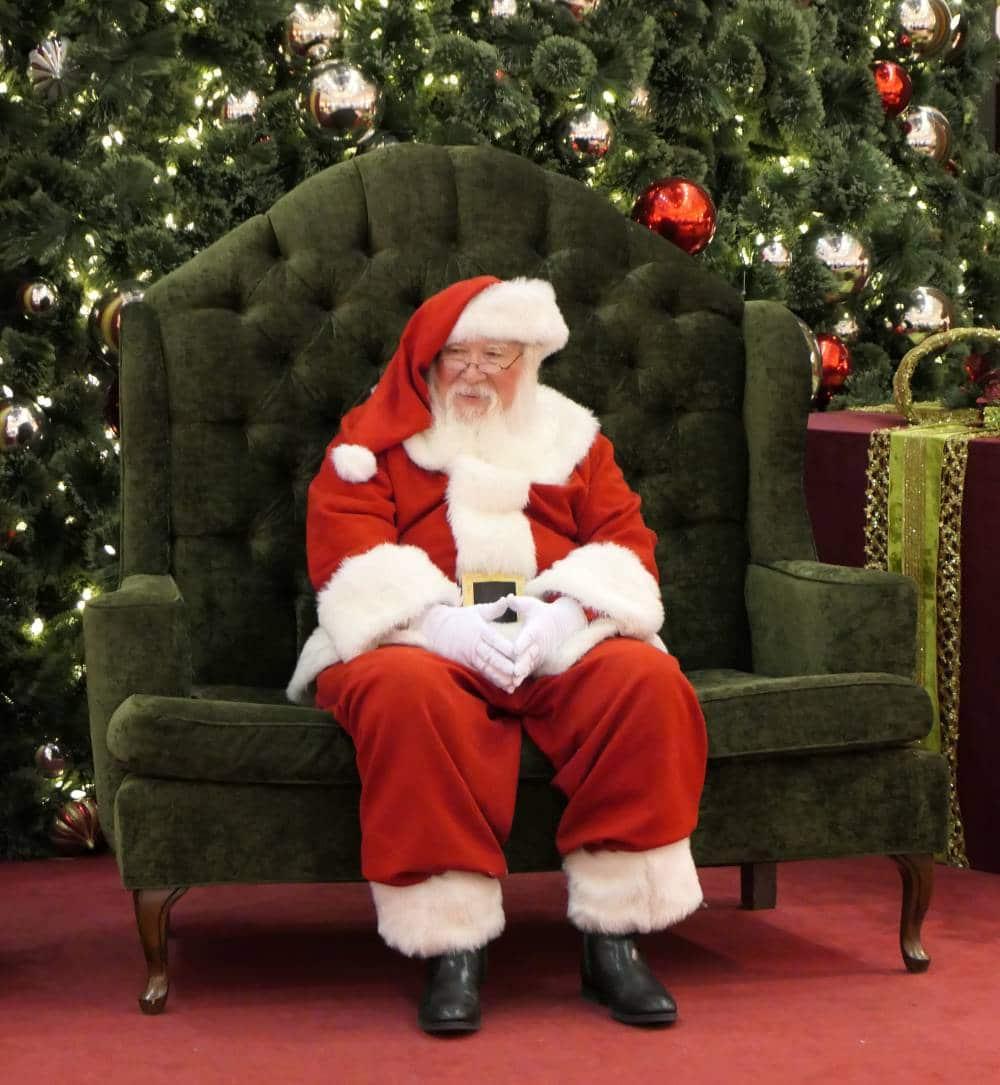 Prachtige kerstman, is dit de echte Santa Claus?