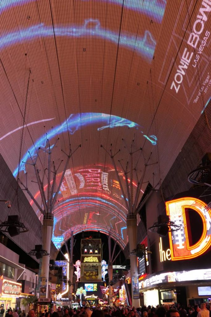 Light Show Fremont Street Experience