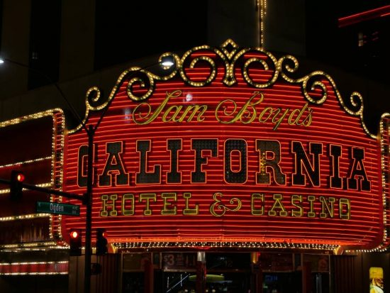 Neon California Casino in Downtwon Las Vegas