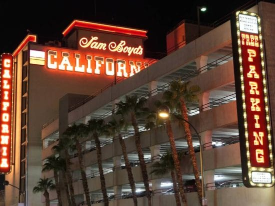 Sam Boyds California Hotel en Casino
