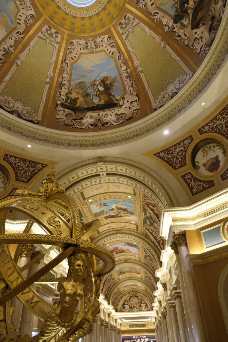 Plafond Lobby enetian Hotel en Casino