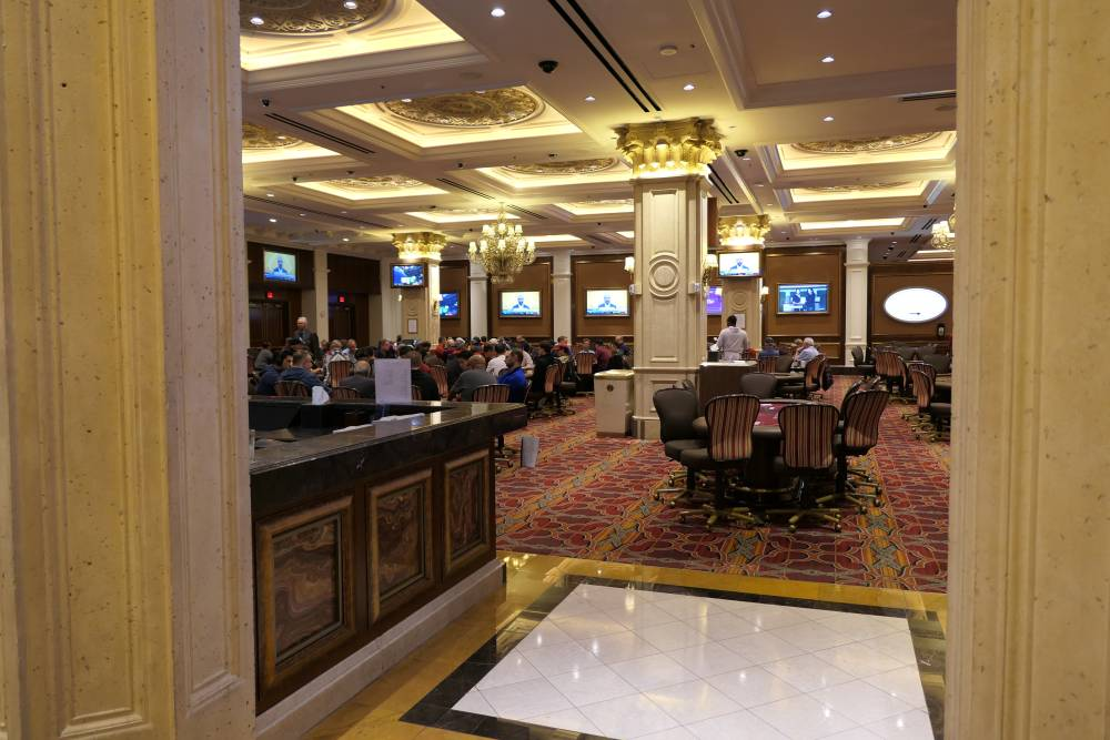 The Venetian Poker Room